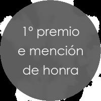 1º premio e mención de honra